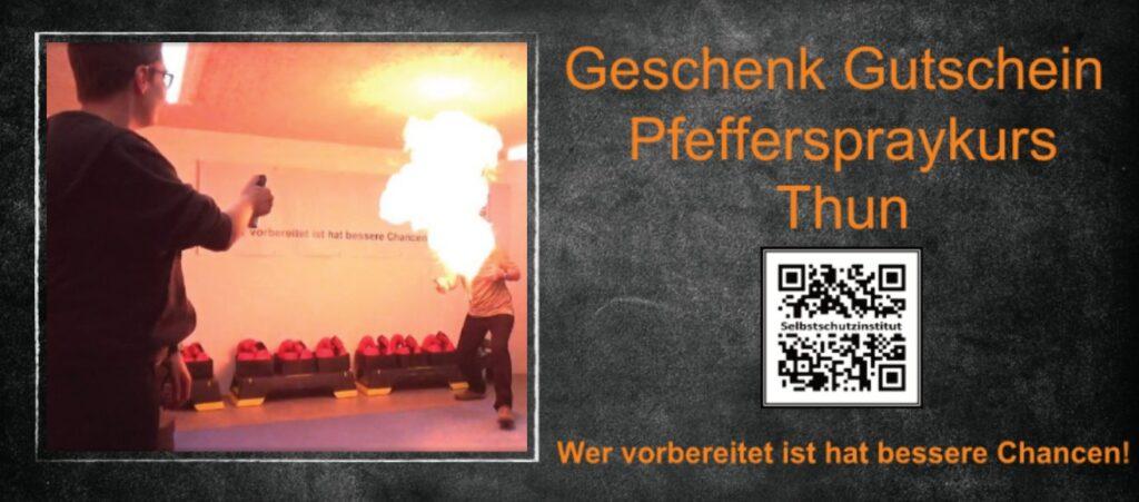 Heisses-Geschenk-Pfefferspraykurs